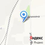 Элком на карте Кирова