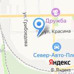 Участковый пункт полиции №7 на карте Кирова