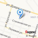 Звезда на карте Кирова