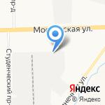 Цитадель на карте Кирова