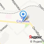 ДВТ на карте Кирова