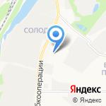 Дверцог на карте Кирова