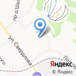 Самсон на карте Кирова