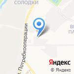 Автомастерская по ремонту грузовых автомобилей на карте Кирова