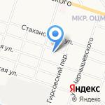 Гюрза на карте Кирова