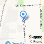 Стройбат на карте Кирова