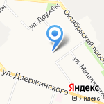Лингвистическая гимназия на карте Кирова