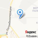 Касаткин Ю.Г. на карте Кирова
