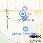 Меркурий на карте Кирова