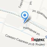Грани Стиля на карте Кирова