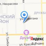 Коктейль на карте Кирова