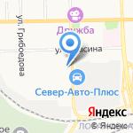 Семейный на карте Кирова