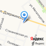 Поликлиника №4 на карте Кирова