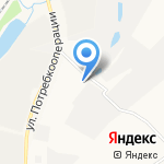 Огниво на карте Кирова
