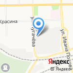 Север-Авто-Плюс на карте Кирова
