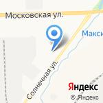 Автохозяйство Правительства Кировской области на карте Кирова