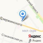 Розовая пантера на карте Кирова