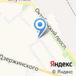 Стронг на карте Кирова