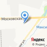 Косметический кабинет Марии Новосадовой на карте Кирова