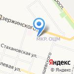 Детская поликлиника №5 на карте Кирова