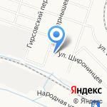 Габриэль на карте Кирова