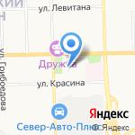 Детский сад №17 на карте Кирова