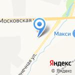 Автокран-Киров на карте Кирова