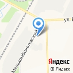 Министерство транспорта Кировской области на карте Кирова