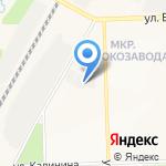 PDR мастер на карте Кирова