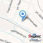 Сонг на карте Кирова