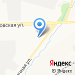 Логос на карте Кирова