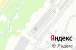 Схема проезда до компании 100 колёс в Кирове