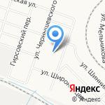 Средняя общеобразовательная школа №53 на карте Кирова