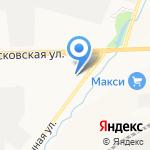 Рио Фрост на карте Кирова