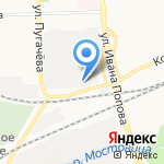 Ателье по пошиву и ремонту детской одежды на карте Кирова