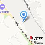 Газель на карте Кирова