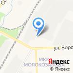 Фортис на карте Кирова