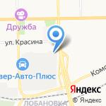 Авторитм на карте Кирова