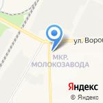 Красавчик на карте Кирова