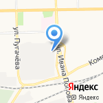 Уралпак на карте Кирова