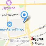 КоМод на карте Кирова