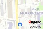 Схема проезда до компании ЕвроБукет в Кирове