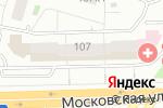 Схема проезда до компании Центральный дом мебели в Кирове