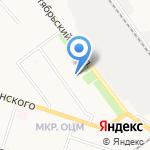 Любовь-Морковь на карте Кирова