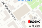 Схема проезда до компании Центр безопасности в Кирове