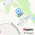 У трамплина на карте Кирова