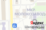 Схема проезда до компании Терра в Кирове