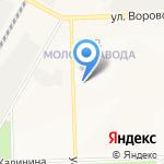 Кировохота на карте Кирова