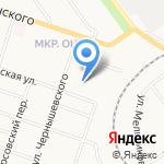 Коралл на карте Кирова