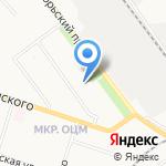Металлург на карте Кирова